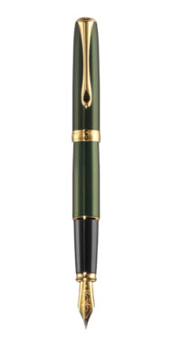 EVERGREEN GOLD • FOUNTAIN PEN 14 CT NIB
